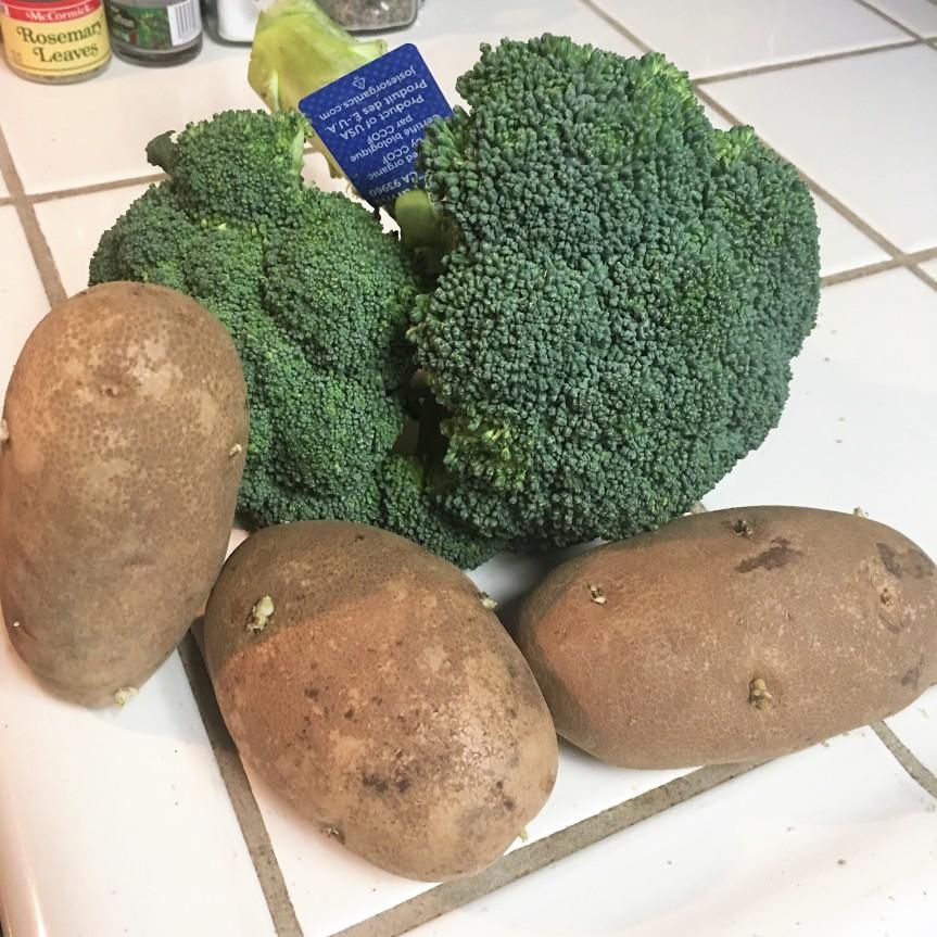 Potato & BroccoliSoup