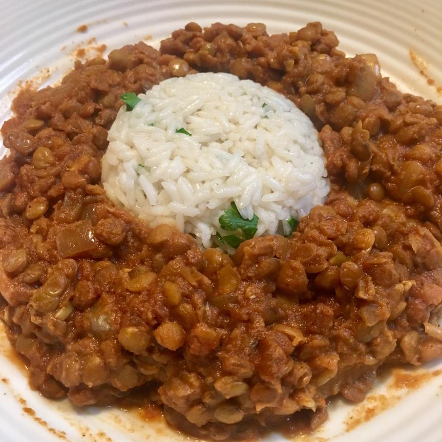 Slow Cooker Red CurryLentils