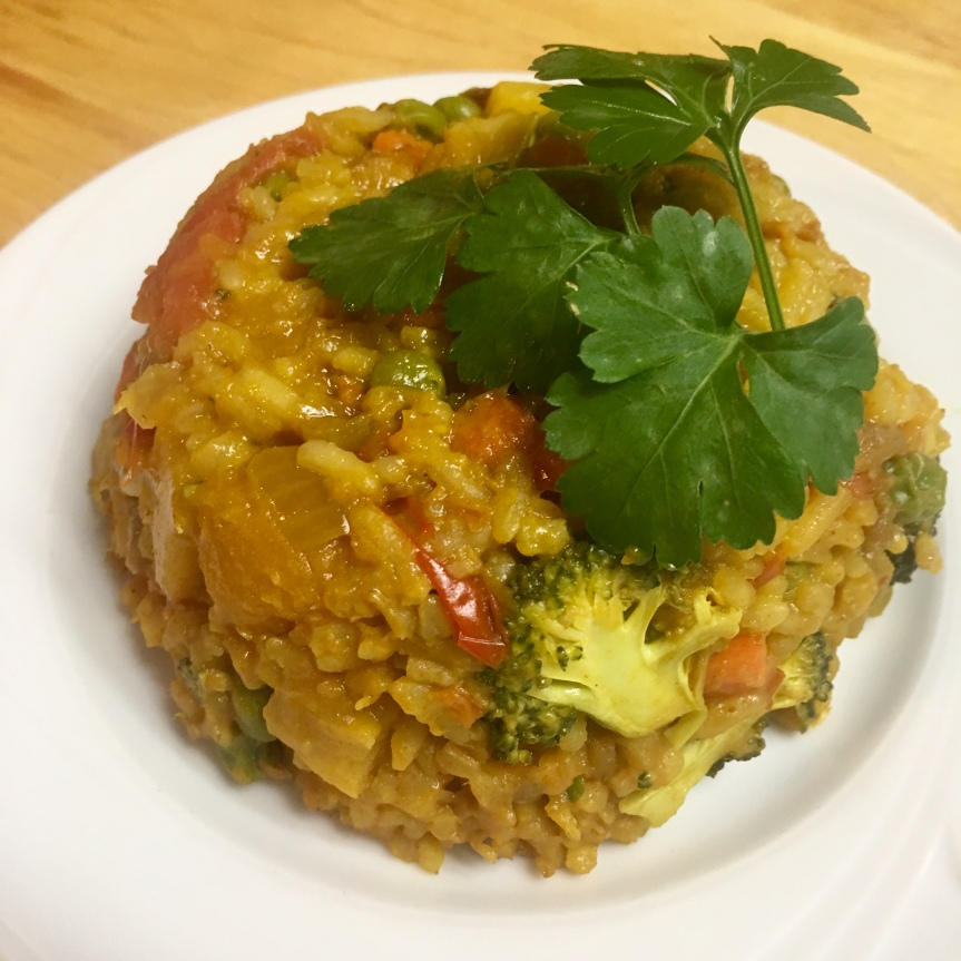 Butternut Squash Pineapple Fried Rice